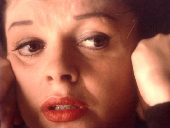 Judy Garland dramatic photo